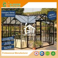 Wholesale G-MORE Extra Heavy Duty Classic English Style Easy DIY Orangery Aluminium Glasshouse from china suppliers