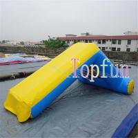 Wholesale Inflatable Amusement Water Slide Games For Kids And Adults 0.9mm Pvc Tarpaulin from china suppliers