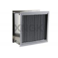 Quality Deep Pleated High Temperature Hepa Filters Washable Bear 200 - 350 ℃ for sale
