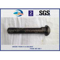 Buy cheap Q235 40Cr HS26 / HS32 Railway Bolt Track Bolts With Bitumen / Dacromet from wholesalers