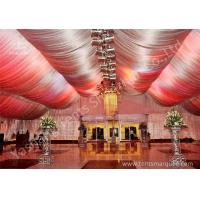 Wholesale Outside Large Square Aluminum Profile Luxury Wedding Tents Decorated With Lining from china suppliers
