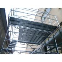 Wholesale hot galvanized Q345 steel ring lock scaffolding system for bridge, tunnel, building construction, stadium from china suppliers
