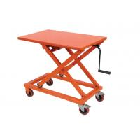 Wholesale Portable Mechanical Lift Table Hydraulic Material Handling Equipment For Supermarket from china suppliers
