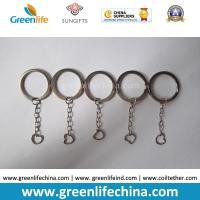 Wholesale High Quality Stainless Steel #304  Inside Diametre 25MM Flast 3MM Dia Split Ring w/Chain from china suppliers