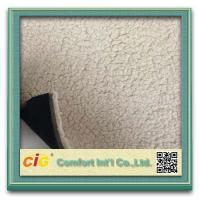 Wholesale Elegant  Printed Sherpa Fleece Faux Fur Fabric  For Car Seat Upholstery , Home Textile from china suppliers