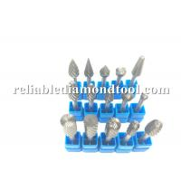 """Wholesale 1/8"""" - 1"""" Double Teeth Cylindrical Round Carbide Bur With TiAlN Coating from china suppliers"""