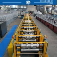 Quality High forming speed Metal Gutterf Roll Forming Machine with Mitsubishi PLC for sale