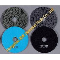 Buy cheap Flexible diamond Wet polishing pads from wholesalers
