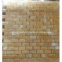Wholesale Honey Onyx Marble Mosaic Stone Tile from china suppliers