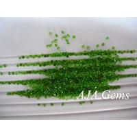 Wholesale 3.5mm Chrome Diopside Gemstones Untreated For Jewelry Set from china suppliers