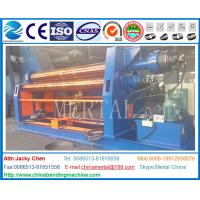 Wholesale CE cert Hydraulic plate rolling machine 4 roller CNC steel plate rolling machine from china suppliers