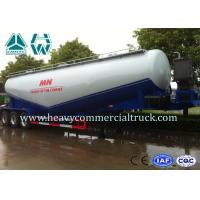 Wholesale SINOTRUK Heavy Duty Dry Bulk Cement Tank Semi Trailer with Ball Valve from china suppliers