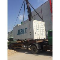 Water Cooling  Lier 40T Containerized Flake Ice Machine With PLC Control