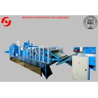 China Thermal Bonded Polyester Wadding Production Line With Heat Conducting Oil on sale
