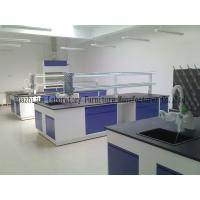 Wholesale Educational Steel Laboratory Furniture , Chemical Resistant Lab Tables For Schools from china suppliers