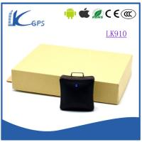 Wholesale New Min Personal Gps Tracker For Kidnapping With SOS Button --Black LK910 from china suppliers