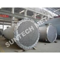 Quality Titanium Gr.2 Cooler / Shell Tube Heat Exchanger for Paper and Pulping Industry for sale