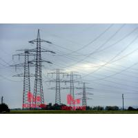 Wholesale 380KV double circuit heavy angle tension transmission line tower from china suppliers