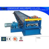 Wholesale 1.2-2.5mm Thickness GI Metal Deck Roll Forming Machine With 15kw Motor from china suppliers