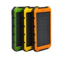 Wholesale Waterproof dustproof solar mobile phone charger from Chinese factory supply directly from china suppliers