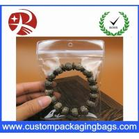 Wholesale Customized Plastic Transparent Pvc Bag For Small Jewelry , 5*7cm from china suppliers