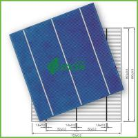 Wholesale 4.21W 3 Busbar A Grade Crystalline Silicon Solar Cell 156mm * 156mm from china suppliers
