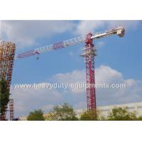 Wholesale Residential Buildings Horizontal Electric Tower Crane Jib Frame 3.1T Tip Load from china suppliers