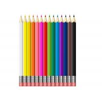 Quality Cheapest and Good Quality Colorful Lead School & Office Wooden Pencil with eraser for sale