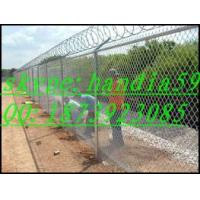 Wholesale chain link fence supplies/ black chain link fence/chain link fence pricing from china suppliers