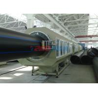 Wholesale 2100kgh 20 - 1600MM HDPE PE Pipe Production Line Single Screw Extruder For Gas Pipe from china suppliers