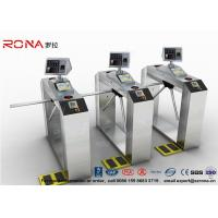 Wholesale Pedestrian Facial Recognition Turnstile ESD Fingerprint Access Control Barriers from china suppliers