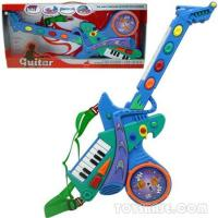 Wholesale Musical Organ - Battery Operated Guitar W/Music (BZH58508) from china suppliers