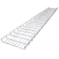 Wholesale Light duty galvanized wave ladder perforated wire mesh trays system, 350*50mm from china suppliers