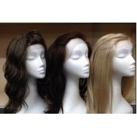Wholesale Indian Original 100% Lace Front Human Hair Wigs With Bleached Knots from china suppliers