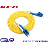 Wholesale SM Duplex LC/UPC-LC/UPC 2.0mm Fiber Optic Patch Cord PVC LSZH 1.0m from china suppliers
