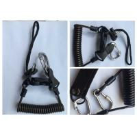 Wholesale 1 - 1.5m  Heavy Duty Spring Steel Safety Tool Lanyards With Strip Hooks from china suppliers