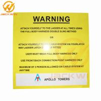 Wholesale Customized Rectangle Reflective Aluminum Warning Sign Roadside Safety Caution from china suppliers
