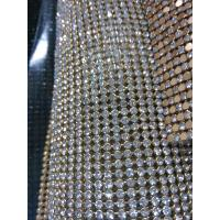 Wholesale Rhinestones mesh crystal stone mesh 2mm/3mm/4mm/ wholesale from china suppliers