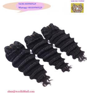 Wholesale Natural Color brazilian hair bundles,Unprocessed wholesale 100%Virgin Brazilian Hair from china suppliers