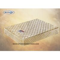 Wholesale Elegant  Tight Top Bonnell Coil Mattress / Hotel Twin Size Memory Foam Mattress Topper from china suppliers