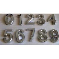 Wholesale House Plaque Silver Arc Plating Self-stick House Letters & Numbers Mailboxes & Address Plaques from china suppliers