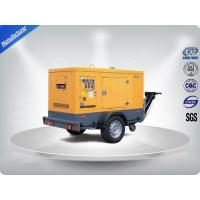 Wholesale Brushless Portable Mobile Generators Trailer Mounted Class H Insulation from china suppliers