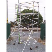 Wholesale Outdoor Lightweight Wheels Aluminium Mobile Scaffold For Cleaning Gutters from china suppliers