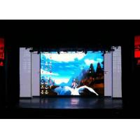 Wholesale 1500Cd / ㎡ Super Slim Cabinet Hd Led Display Indoor , Led Video Wall Rental from china suppliers