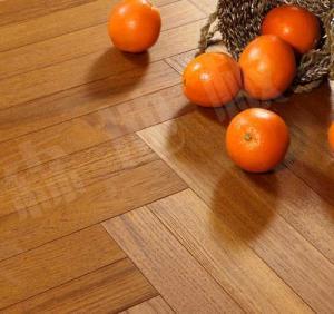Quality slight brushed burma teak engineered wood flooring,herringbone teak flooring, for sale