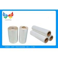 Wholesale Water Soluble PVC Shrink Film Rolls High Shrinkage Ratio For Full Body Sleeves from china suppliers