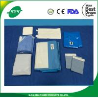 Wholesale Laparoscopic assisted vaginal hysterectomy drape packs from china suppliers