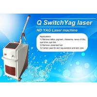 Wholesale Dual Lamp Q Switched ND YAG Laser Machine Tattoo Removal / Pigmentation Removal Machine from china suppliers