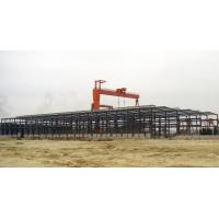 Quality Industrial Large Pre Engineered Steel Buildings With Galvanization And Painting Treatment for sale