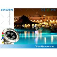 Quality 3W 82*120  SAL062A3 LED Underwater Pool Light Life Span >50000 Hours Stainless Steel Housing for sale